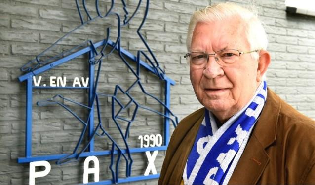 Herman Groot Wassink van VV Pax Hengelo Gld., genomineerd voor de titel 'Vrijwilliger van het jaar'. Foto: PR