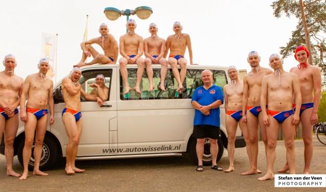 De waterpoloërs van Natare. Foto: PR
