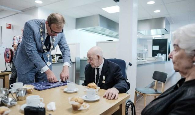 William 'Bill' Cole verhuist naar Zutphen, maar de oorlogsveteraan werd op de valreep ereburger van Doetinchem. Foto: PR