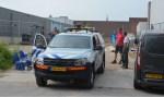 Explosieve opruimingsdienst gealarmeerd voor explosief in Zutphen. Foto: GinoPress B.V.