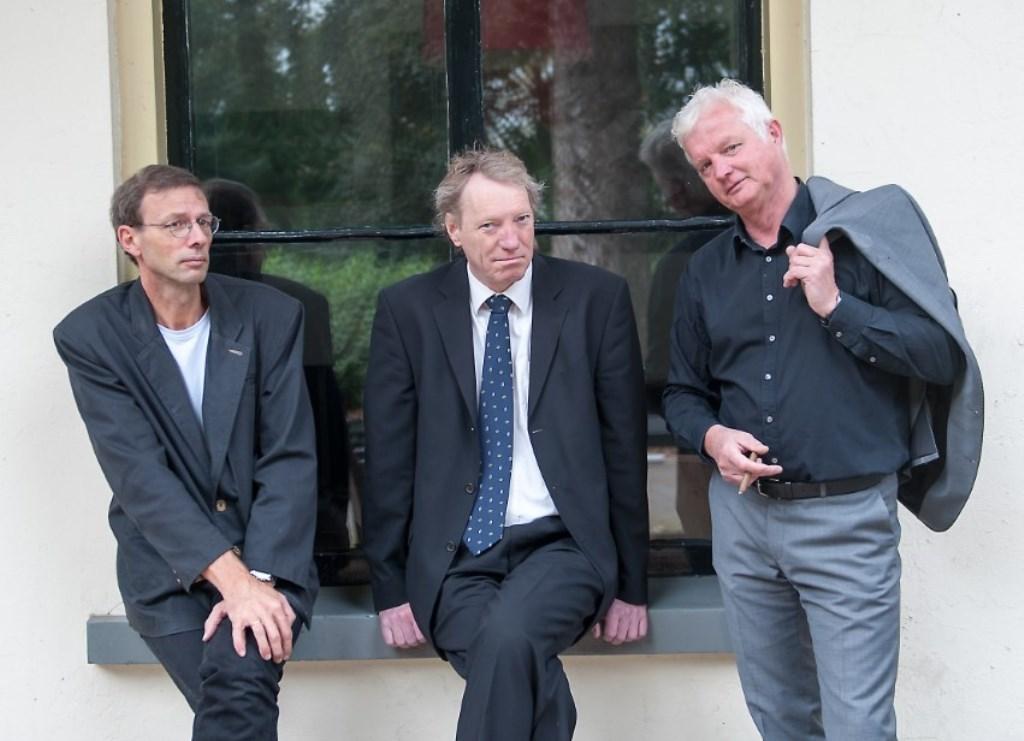 Tycho Schipper, Kees Weitkamp ne André van Gessel. Foto: PR