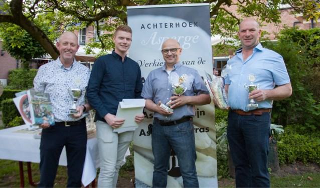 De prijswinnaars. Foto: PR