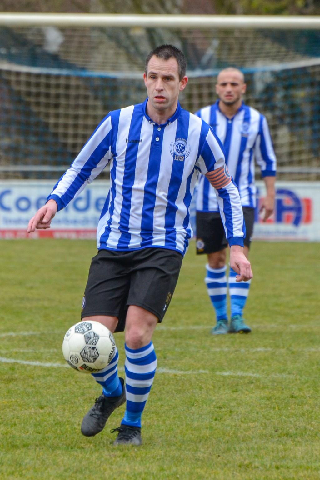 Frank Buurmeijer, topscorer van AZC. Foto: Freddy Burgers  © Achterhoek Nieuws b.v.