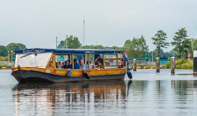 De fluisterboot de Iesselganger. Foto: Henk van Raaij
