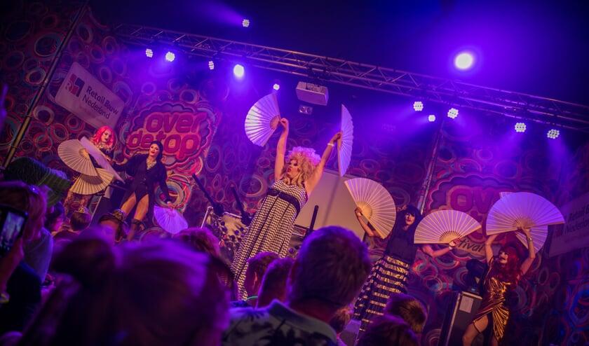 Mary Miracle's Crazy Lip Sync Show, een waardige slotact van Over De Top 2018. Foto: Martijn Koolmees