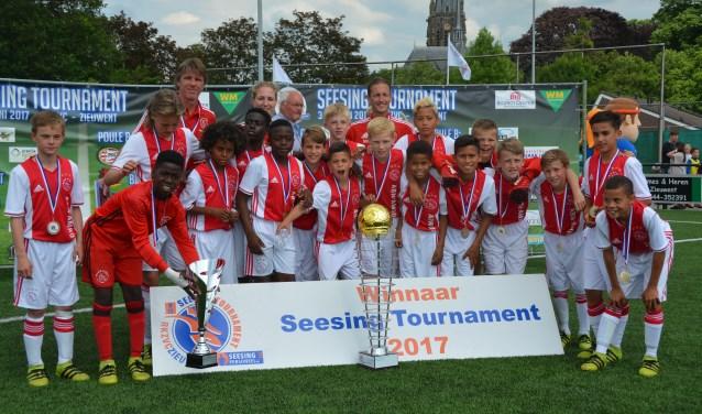 Ajax was de winnaar van het Seesing Tournament in 2017. Foto: PR