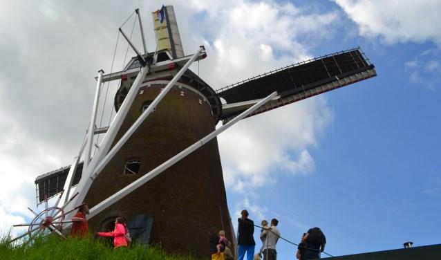 De Wenninkmolen in Lintelo doet ook mee aan de Molendag. Foto: PR