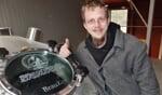 Brouwer Jan Luft bij een van de brouwketels. Foto: Achterhoek Nieuws/Henri Walterbos