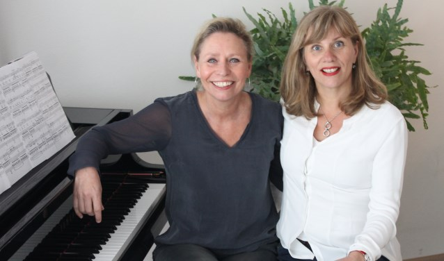 Pianiste Esther Scheerder en mezzosopraan Enneke Schekman. Foto: PR