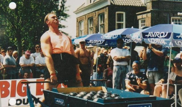 Wout Zijlstra, Sterkste Man van Nederland 2001. Foto: PR