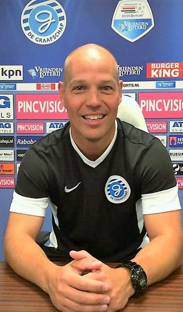 Dennis te Braak, hoofd-jeugdopleiding bij De Graafschap. Foto: Roel Tomassen