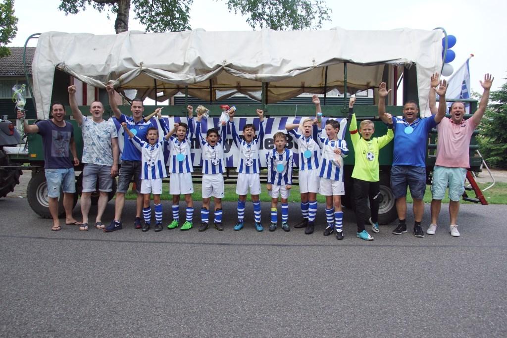 DZSV JO11-4. Foto: Frank Vinkenvleugel  © Achterhoek Nieuws b.v.