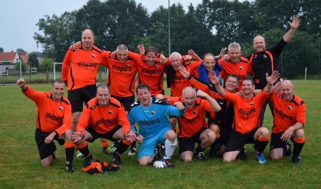 Ajax B 45+ kampioen. Foto: PR