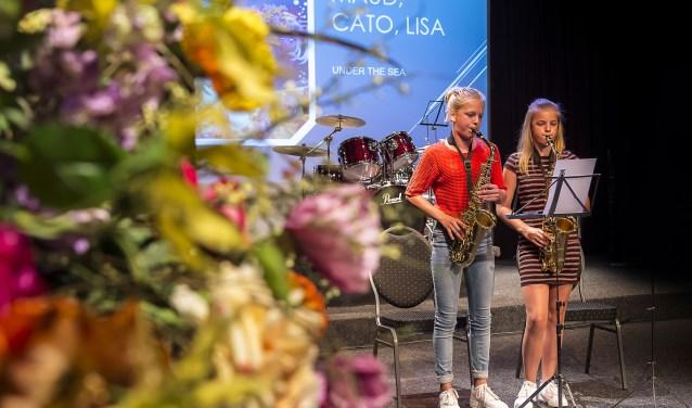 Het leerlingenconcert van St. Radboud. Foto: Henk van Raaij