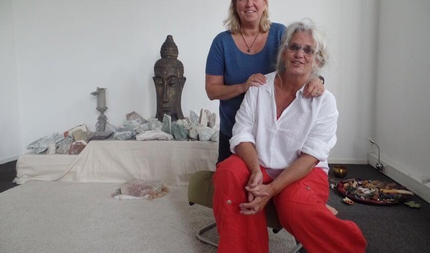 Inge Schultze en Marlies Pastoor nemen afscheid van Zutphen. Foto: Meike Wesselink