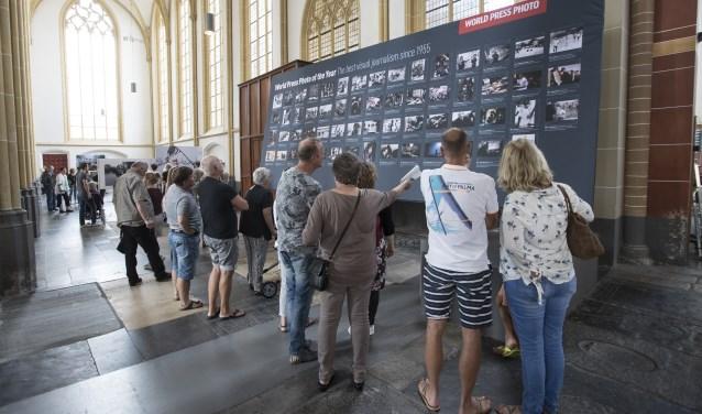 Jaarlijks trekt de tentoonstelling in de Walburgiskerk Zutphen duizenden bezoekers. Foto: Patrick van Gemert/Zutphens Persbureau
