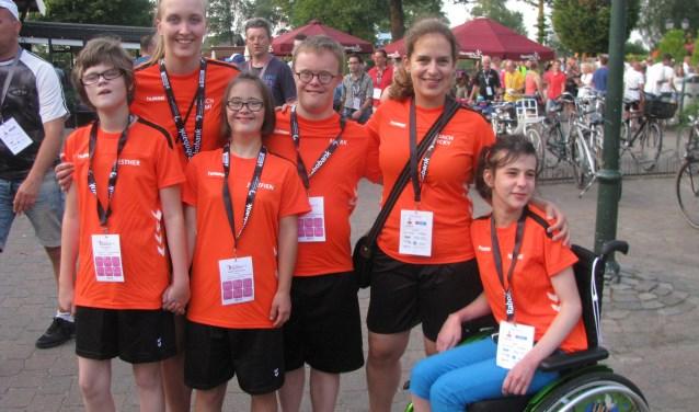 Het team uit Heesch op Marveld. Foto: Ferry Broshuis