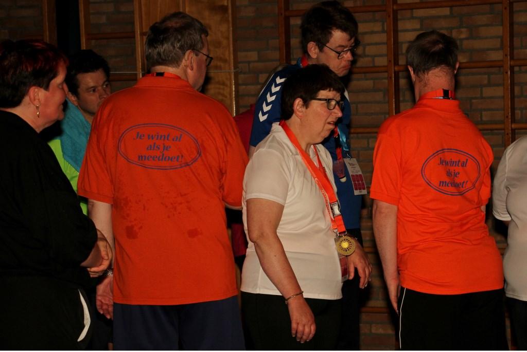 Je wint al als je meedoet, is de slogan van de Special Olympics 2018. Foto: Liesbeth Spaansen  © Achterhoek Nieuws b.v.