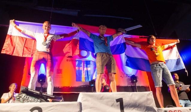 Barend Westervelt Europees Kampioen Obstacle Run. Foto: Pr