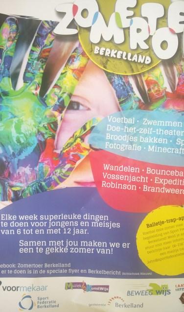 De poster van Zomertoer Berkelland. Foto: PR