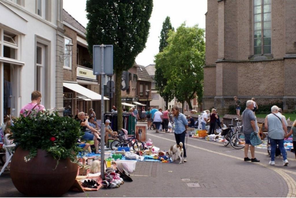 De kinderrommelmarkt is een succesvol onderdeel van de Aaltendagen. Foto: PR  © Achterhoek Nieuws b.v.