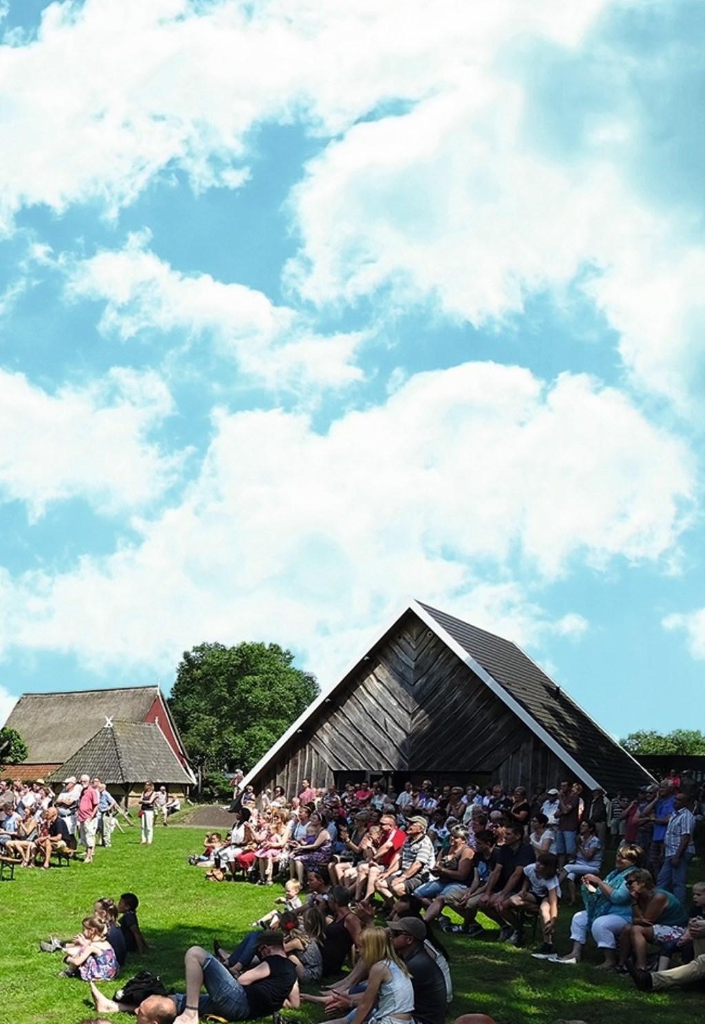 Het festivalterrein van Erve Kots biedt voldoende plek voor alle zeven podia. Foto: PR  © Achterhoek Nieuws b.v.