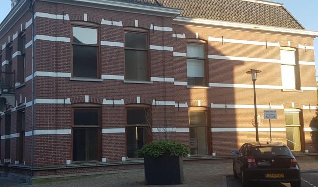 Het pand Goudsmitstraat 6 in Groenlo zal worden omgebouwd tot twee appartementen. Foto: Kyra Broshuis