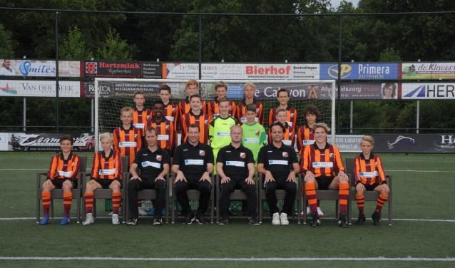 FC Zutphen U13 team. Foto: Hans ten Brinke