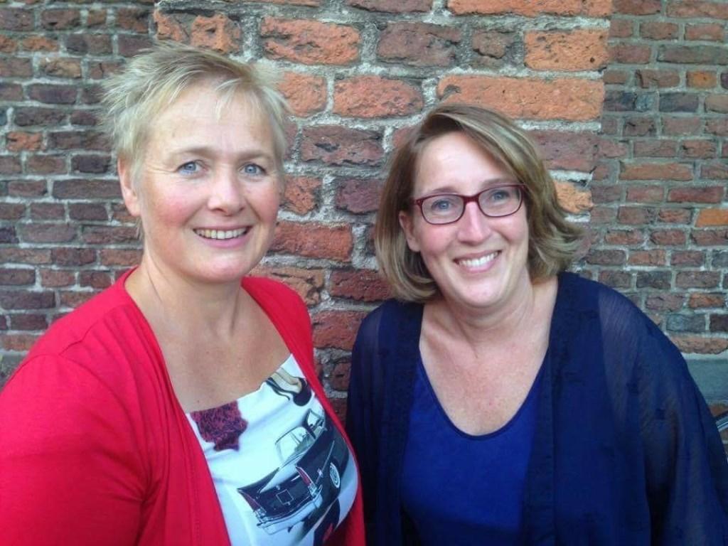 Anja den Bakker en Yvonne Beeftink. Foto: PR  © Achterhoek Nieuws b.v.