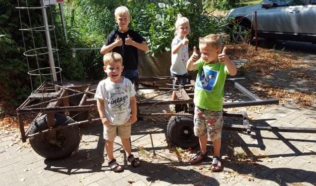 Vijf onderstellen staan klaar om ook jonge corsobouwers een kans te geven. Foto: PR