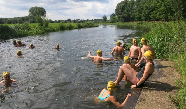 Zwem mee met de Berkelmarathon. Foto: PR