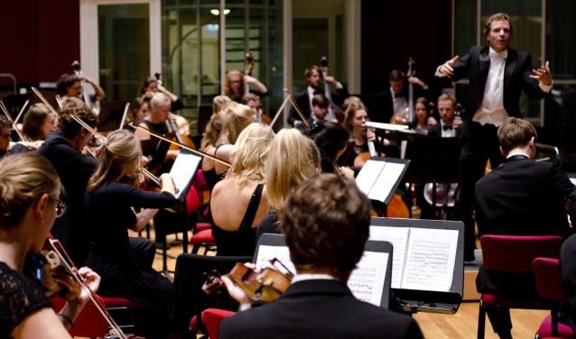 Het Nederlands Symfonie Project staat onder leiding van Pim Cuijpers. Foto: Sander van der Linde