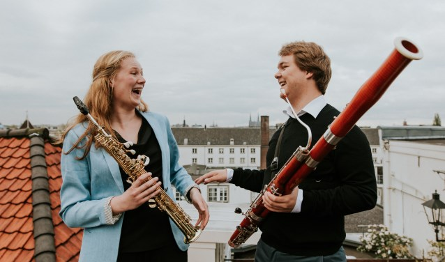 Deborah Witteveen en Thomas Dulfer. Foto: Rachel Ecclestone