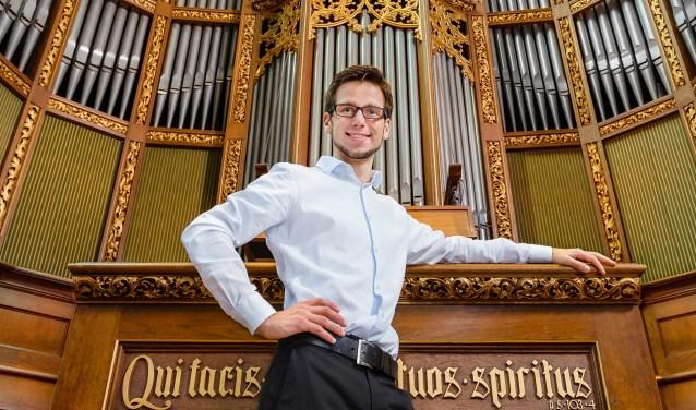 Arjan Veen (1992) had al op jonge leeftijd een grote interesse in het orgel. Foto: PR.