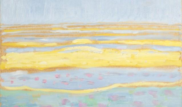 Piet Mondriaan, Zeegezicht, 1909, Collectie Gemeentemuseum Den Haag. Foto: PR