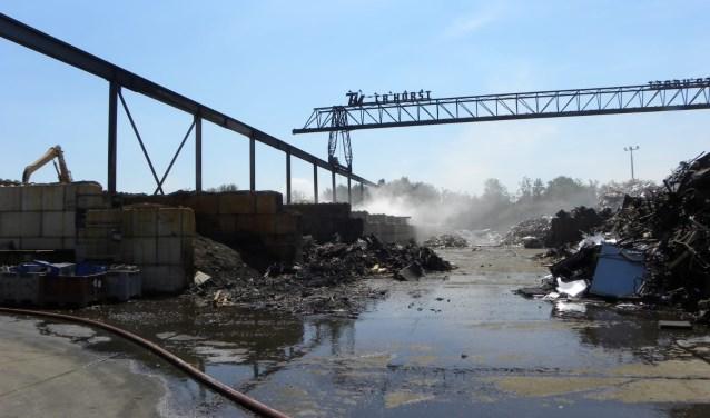 Ter Horst krijgt een week extra tijd voor het afvoeren van het afval. Foto: 112 Nieuws Gelderland