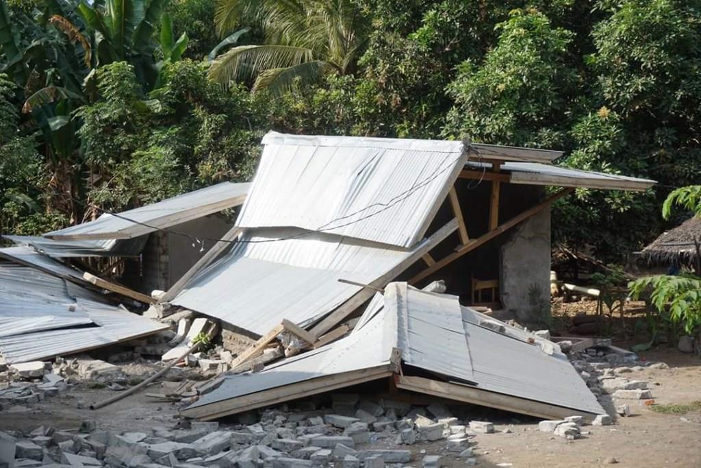 De aardbeving heeft grote verwoestingen aangericht. Foto: eigen foto  © Achterhoek Nieuws b.v.