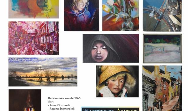 Affiche  van de tentoonstelling in de Jacobskerk. Foto vix - Vic Hulshof