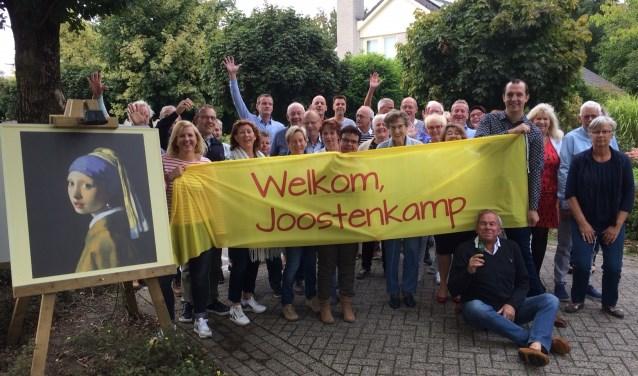De buurtbewoners van de Joostenkamp. Foto: PR.