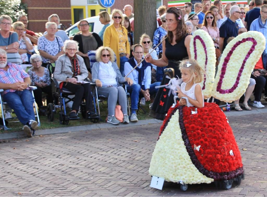 Winnaar van de Kiezelklasse: Vlinder Princes. Foto: Annekée Cuppers  © Achterhoek Nieuws b.v.