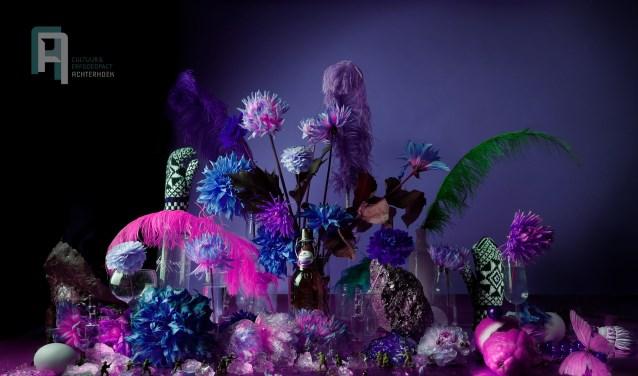Het Oostgelrese stilleven toont een relatie met bloemencorso en carnaval. Foto: PR