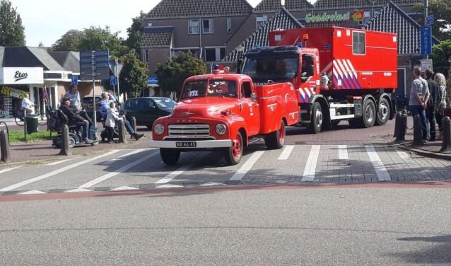 Een deel van de Didamse brandweergeschiedenis trok voorbij. Foto: 112 Nieuws Gelderland