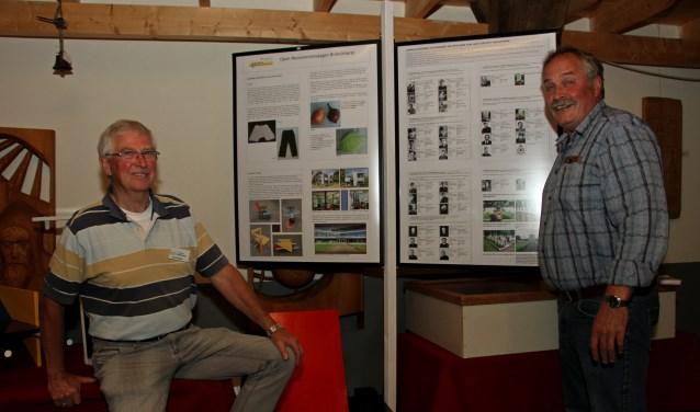 Ben Radstake (l.) en Ben Schieven, suppoosten van Smedekinck. Foto: Liesbeth Spaansen