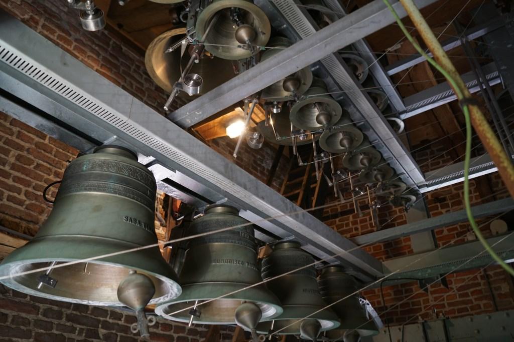Een deel van het carillon. Foto: Frank Vinkenvleugel  © Achterhoek Nieuws b.v.