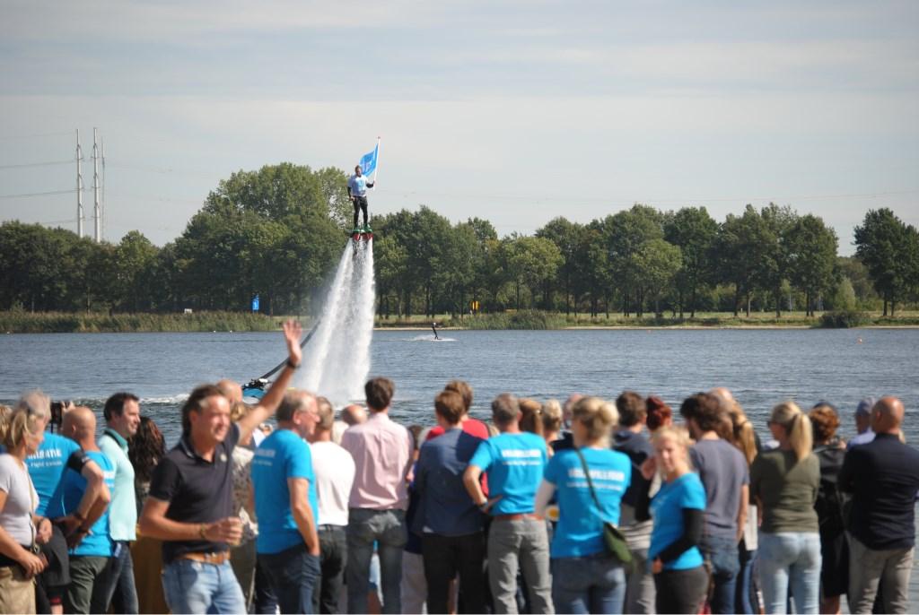 Het zwemfestijn is begonnen. Foto: StadDoetinchem.nl  © Achterhoek Nieuws b.v.