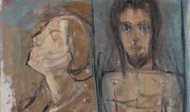Piet Mondriaan, Twee Figuren, 1908-1909, Collectie Gemeentemuseum Den Haag
