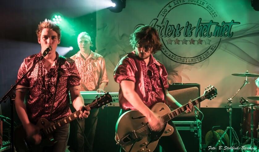 De Vordense band  'Anders is het niet' speelt komende zondagmiddag tijdens het Lindes Feest. Foto: PR