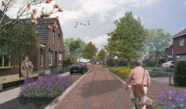 Impressie van de Hoofdstraat in Varsselder. Foto: PR