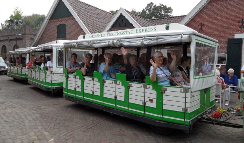 Er gingen meer senioren mee dan in de Vestingstad Express pasten. Foto: PR