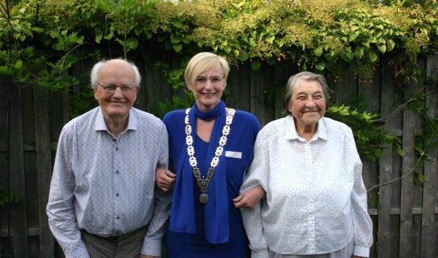Henk en Johanna Jolink delen al 65 jaar lief en leed. Foto: Jan Knoef